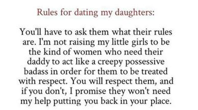 Un padre publica en Facebook consejos para salir con sus hijas