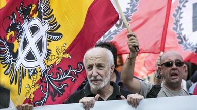 El fiscal pide 3 años de cárcel para dos dirigentes ultras por incitar a la violencia contra los independentistas
