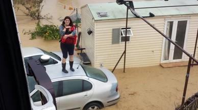 Dos morts per la pluja a Andalusia