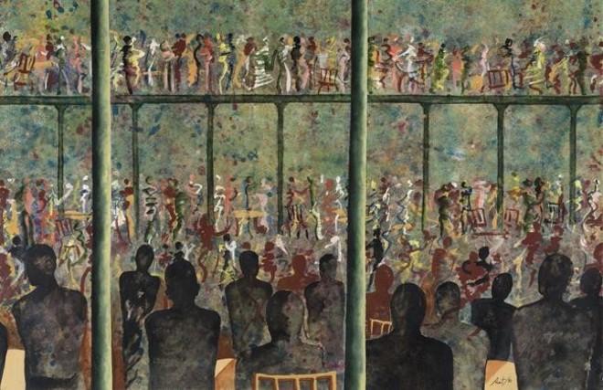 La obra 'El baileII'(1980) de Xavier Prat