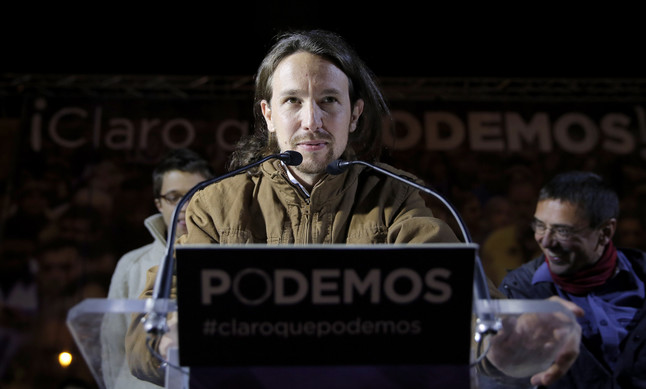 El partido Podemos confirma que sus parlamentarios europeos cobrarán menos de 2.000 euros