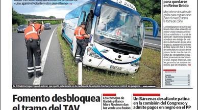 Del circ del xulo Bárcenas, del comissari polític Villarejo i d'aquesta corrupta democràcia