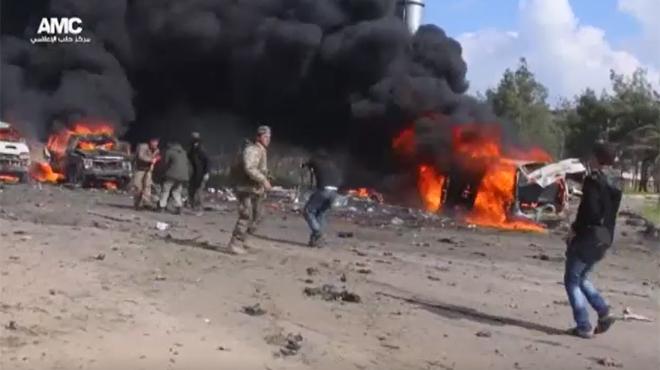 La majoria de les víctimes de la matança als afores d'Alep eren nens