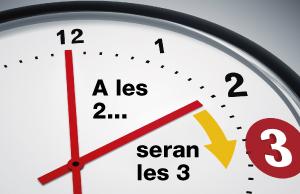 ¿Quan s'avança el rellotge i què hi guanyarem?