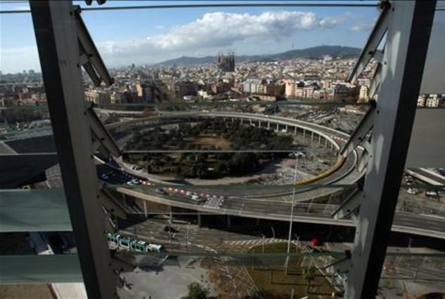 Barcelona derribará dentro de un año el tambor de las Glòries