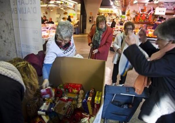 Trias pide participación para lograr las 1.400 toneladas de alimentos
