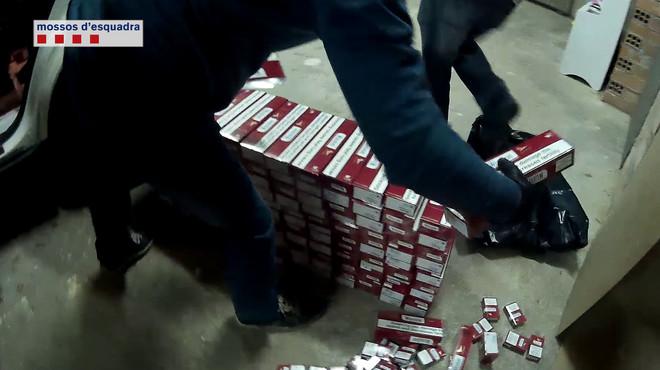 Detenidos tres contrabandistas de tabaco desde Andorra