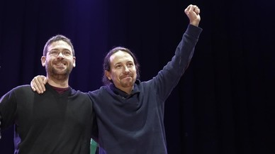 """Iglesias considera Fachin """"políticament fora"""" de Podem"""