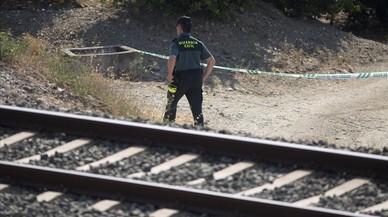 Les càmeres van gravar la nena de Màlaga caminant sola per la via
