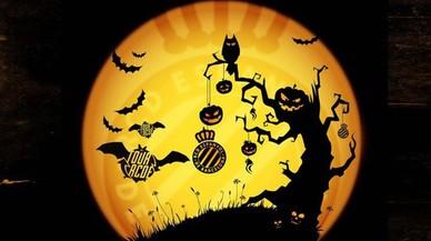 L'Espanyol celebra Halloween amb un tour a les fosques per Cornellà