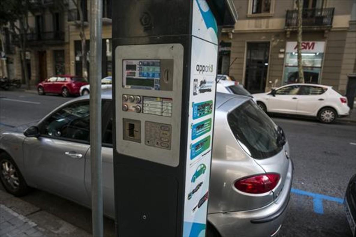 Barcelona quiere rea verde y azul m s cara para coches for Oficina area verda barcelona