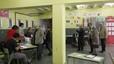 Ambiente electoral en un colegio de Terrassa