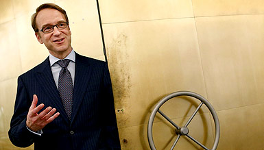 Jens Weidmann, el presidente del Bundesbank. REUTERS