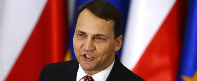El exministro de Exteriores de Ucrania Radoslaw Sikorski.