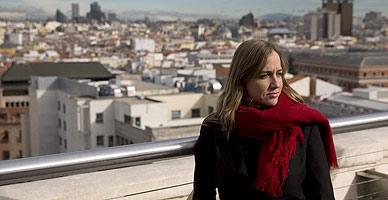 Tania S�nchez, el jueves pasado, en Madrid.