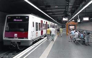 Estació de Ferrocarrils de la Generalitat de la plaça dEspanya, que des del 2013 ofereix més connectivitat.