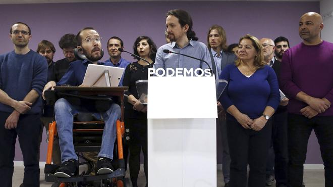 Iglesias propone a Pablo Echenique como nuevo secretario de Organización de Podemos