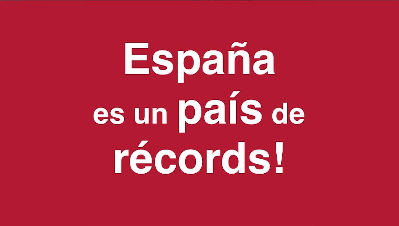 records vergonya espanya