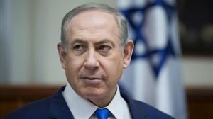 Binyamin Netanyahu en una reunión de su gabinete de Gobierno.