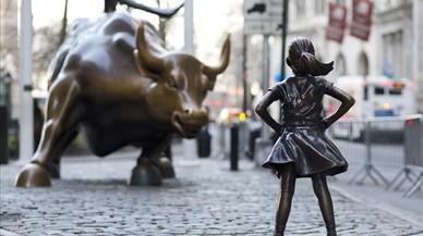 La nena de bronze de Wall Street es queda un any més