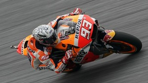 Marc Márquez (Honda), lider de MotoGP, ha demostrado hoy, en Austria, que es el rival a batir.