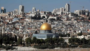 mbenach41146996 view of jerusalem on december 1 2017 us president donald171201201353