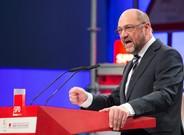 Martin Schulz, en Bielefeld.