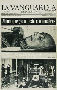 Así vio la prensa la muerte del dictador