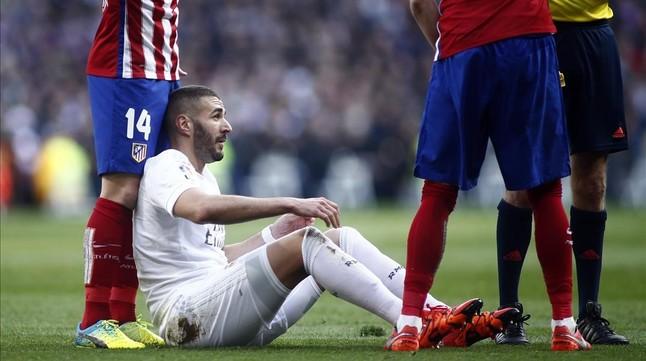 Benzema, baja para tres semanas