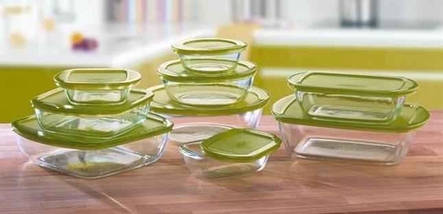 El peri dico ense a c mo cocinar con recipientes de vidrio - Recipientes para alimentos ...