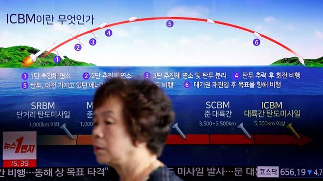 """Corea del Nord anuncia l'""""èxit"""" del llançament del seu primer míssil intercontinental, capaç d'arribar a Alaska"""