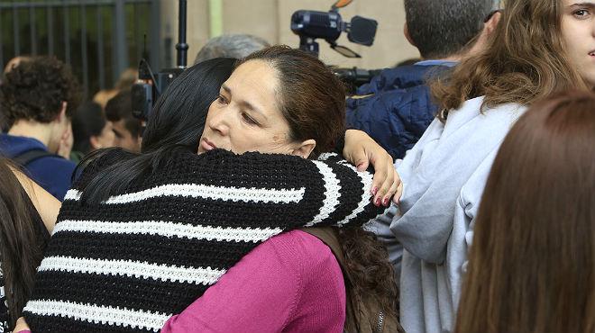 El estudiante, de 13 años, ha matado al profesor interino de sociales.