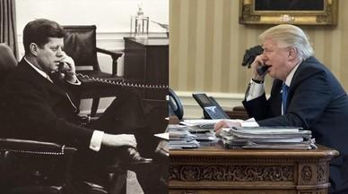 JFK y Trump, cara a cara