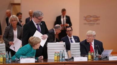 Trump aparta els EUA de la via mundial del clima i el lliure comerç