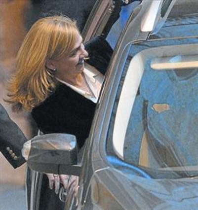 La defensa de la infanta Cristina se equivocó de cuenta al ingresar la fianza
