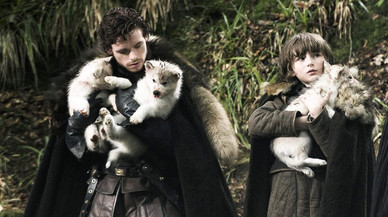 En 'Juego de tronos' no hay 'huskies'