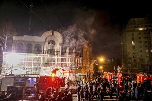 L'Aràbia Saudita trenca relacions diplomàtiques amb l'Iran