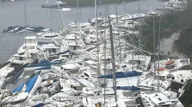 L'huracà 'Irma' creua el Carib amb una força devastadora
