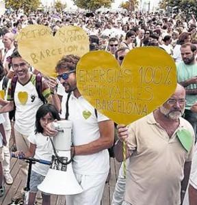 La protesta global contra el cambio climático reclama acción urgente