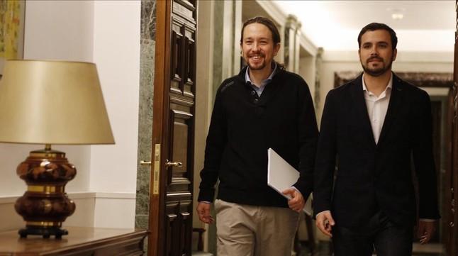 Iglesias cede a negociar sin sentarse antes con S�nchez