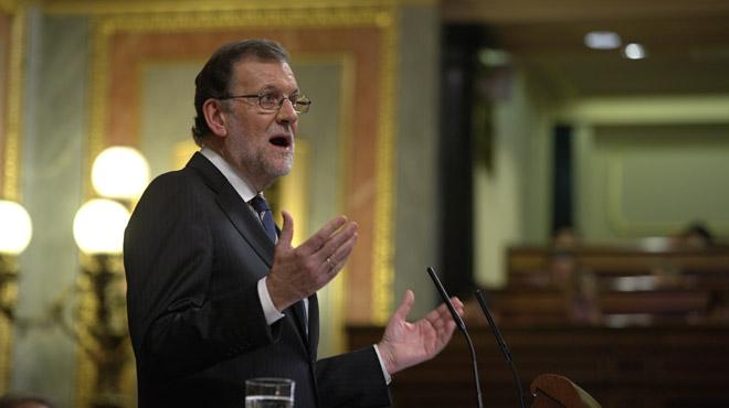 """Rajoy: """"Hoy los españoles pueden comprobar sin lugar a dudas que no existe impunidad para la corrupción""""."""