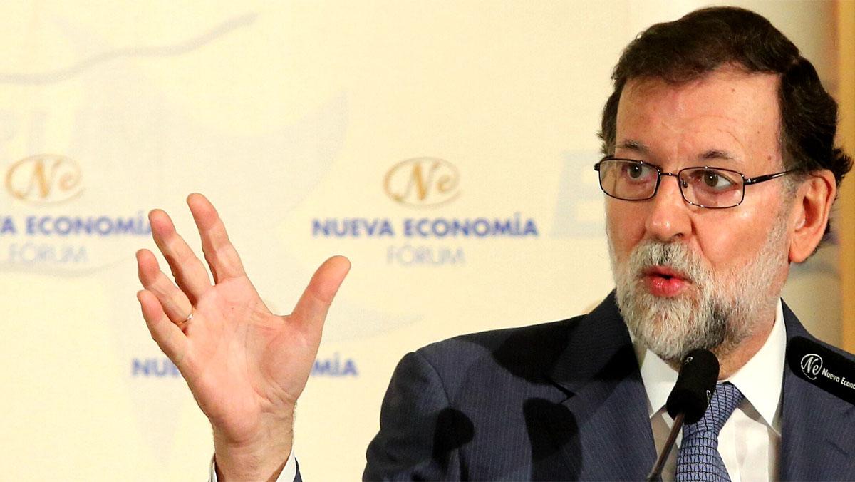 """Rajoy a Rovira: """"No debo enfadarme en público. Si se atrevió a decir esa mentira, por qué no se atreve a decir quién les amenazó"""""""