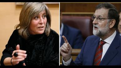 Mariano Rajoy reconeix a Núria Marín les pressions que rep per l'1-O