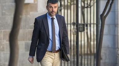 """Santi Vila loa el """"perfil centrista"""" de Urkullu en v�speras de la moci�n de confianza de Puigdemont"""
