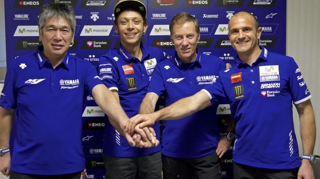 Yamaha renova abans a Rossi que a Lorenzo