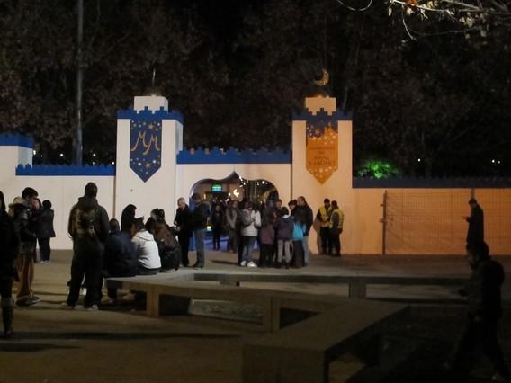 Can Mercader de Cornell� se convierte en un Campamento Oriental ante la llegada de los Reyes