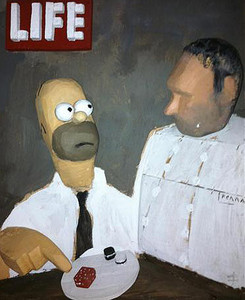 Portada de ficcin de la revista 'Life'.