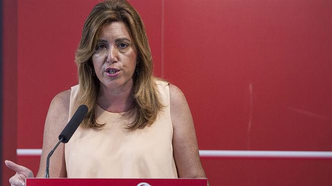 """Susana Díaz: """"Creo en la decencia de Chaves y Griñán"""""""