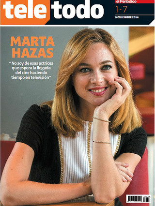 Marta Hazas es la protagonista del 'Teletodo' de esta semana.