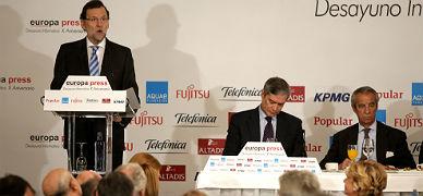 Rajoy anuncia una previsi�n de crecimiento para el 2015 del 2,9%